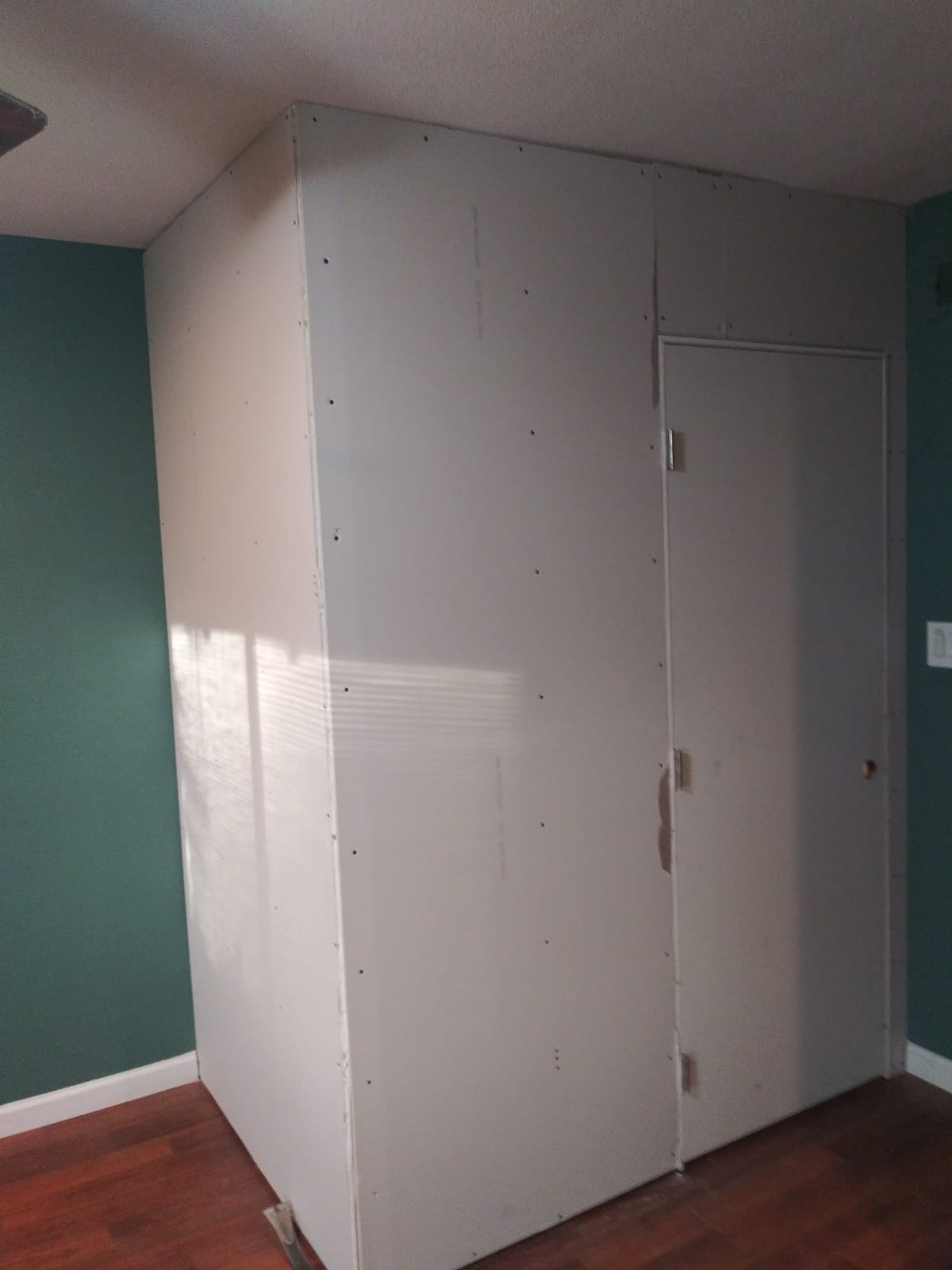 complete drywall project